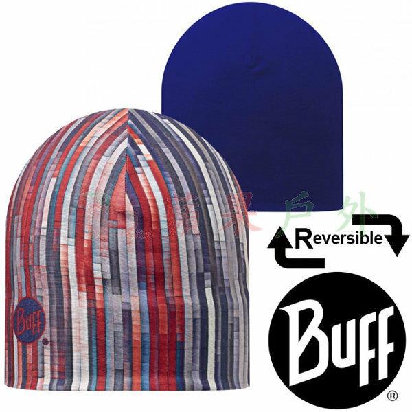 【【蘋果戶外】】BF108915西班牙BUFF雙面彈性保暖帽線條瀑布快乾帽防寒帽
