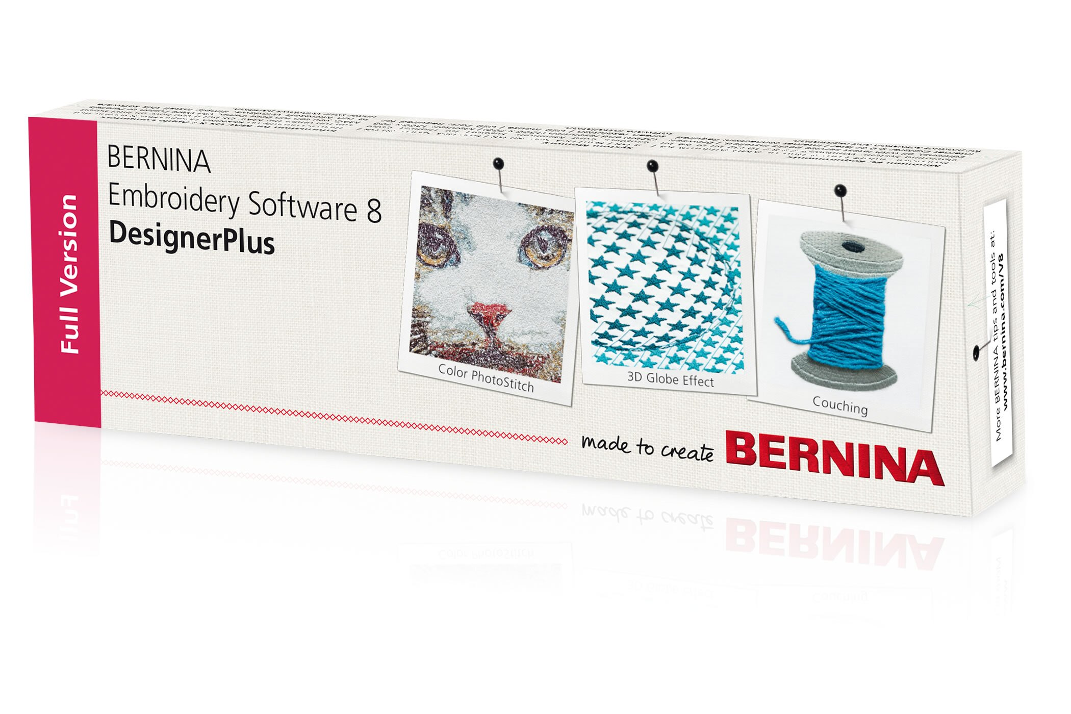 BERNINA Embroidery Software 8 刺繡軟體 (V8 刺繡軟體)