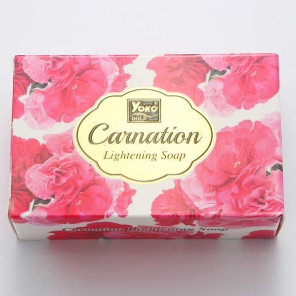 【 YOKO 】 優? 康乃馨款 花香皂 肥皂 香皂 110g 原裝進口 - 006086