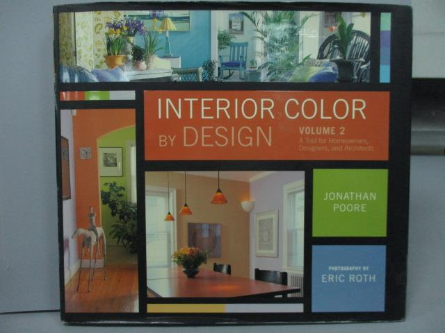 ~書寶 書T8/ _WFP~Interior Color by Design_Vol.2