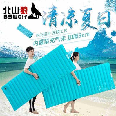 美琪(夏日款)露營帳篷睡墊氣袋式超輕充氣墊單人加寬加厚防潮墊