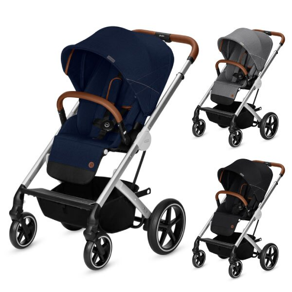Cybex Balios S 雙向嬰兒手推車-單寧款(3色可選) 0