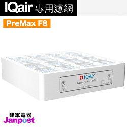 【建軍電器】原廠 PreMax F8第一層前置濾網 Iqair Healthpro 250 Plus