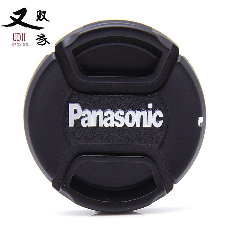 又敗家~國際Panasonic副廠鏡頭蓋46mm鏡頭蓋帶孔繩 快扣中扣中捏鏡頭蓋 適Lum