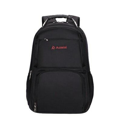 後背包純色電腦包-大容量旅行休閒耐磨男雙肩包5色73ru24【獨家進口】【米蘭精品】