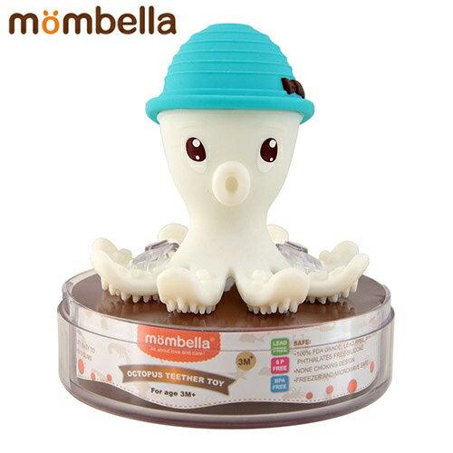 【安琪兒】【mombella】樂咬咬章魚固齒器-盒蓋裝(4色) 0