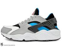 父親節禮物推薦2014 台灣未發售 1992 經典鞋款 重新復刻 店舖限定 NIKE AIR HUARACHE 白藍黑 白灰黑藍 原版 OG 經典配色 網布 透氣 輕量 慢跑鞋 (318429-140) !