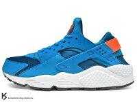父親節禮物推薦[24cm] 少量入荷 2014 台灣未發售 1992 經典鞋款 重新復刻 世界店舖限定 NIKE AIR HUARACHE GYM PHOTO BLUE 藍 藍白 網布 透氣 輕量 慢跑鞋 限量發售 (318429-402) !