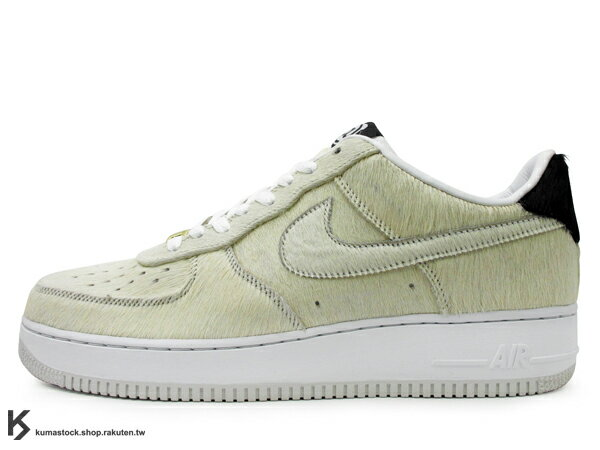 超少量 限定發售 冠希著用 MEDICOM TOY x NIKE AIR FORCE 1 LOW PREMIUM BE@RBRICK 白色 白熊 毛毛 小熊 (318775-102) !