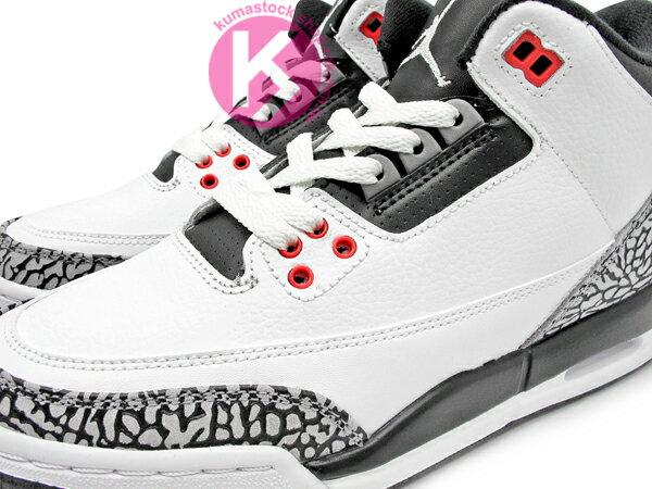[23cm] 灌籃大賽 2014 再度復刻上市 全新復刻配色 NIKE AIR JORDAN 3 III RETRO BG GS INFRARED 23 大童鞋 女鞋 白黑紅 白黑 爆裂紋 AJ 23..