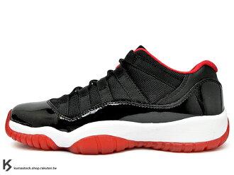 2015 少量入荷 經典原版 OG 配色復刻 NIKE AIR JORDAN 11 RETRO LOW BG GS BRED 大童鞋 女鞋 低筒 黑紅 亮皮 AJ XI (528896-012) !