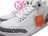 奇蹟入荷一足 NIKE LOGO 超經典 OG 原版配色 2013 再度復刻上市 NIKE AIR JORDAN 3 III RETRO '88 1988 WHITE RED CEMENT 白灰紅 白黑紅 老屁股 爆裂紋 灌籃大賽 公牛隊 88 BULLS AJ 23 (580775-160) ! 1