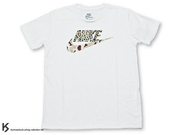 日本直送入荷 現貨 2013 春夏最新 日本新宿 sports lab by atmos x NIKE AIR MAX ANIMAL CAMO PACK LEOPARD DESERT CAMO LOGO TEE 白底 豹紋 沙漠迷彩 字體 短T TEE T-SHIRT AM 1 (603739-100) !
