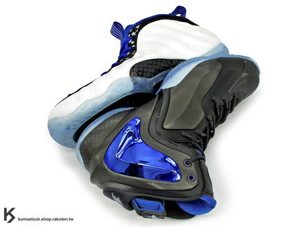 KUMASTOCK:2014傳奇球星專屬鞋款NIKESHOOTINGSTARS組合包明星賽AIRFOAMPOSITEONE白藍黑星星+LILPENNYPOSITE黑藍木偶小噴尼半文錢透明底太空鞋ZOOMHARDAWAYFLIGHTMAGIC魔術(679766-900)!