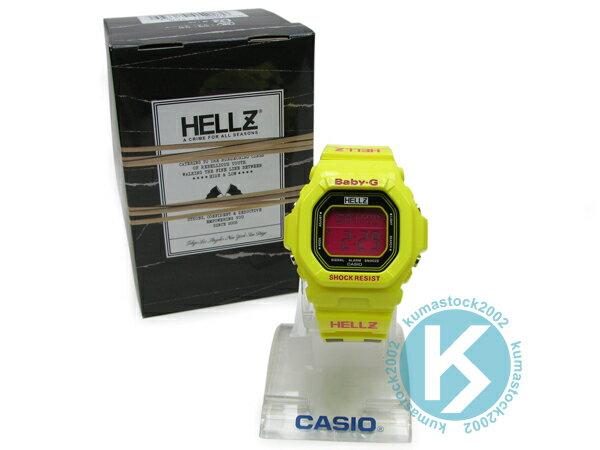 紐約超人氣女裝街頭潮牌 限量發售 CASIO x HELLZ BABY-G BG-5600HZ-9DR 黃 黑桃紅 方格 紐約街道 G-SHOCK !