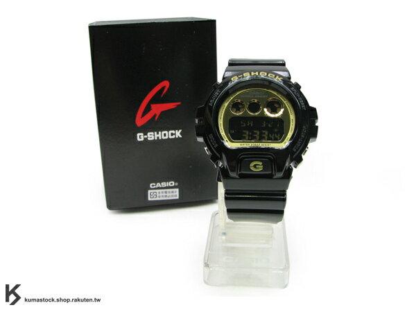 Kumastock特別入荷 2010年新色 CASIO G-SHOCK NEW CRAZY COLOR 系列 DW-6900CB-1DR 黑金 亮面
