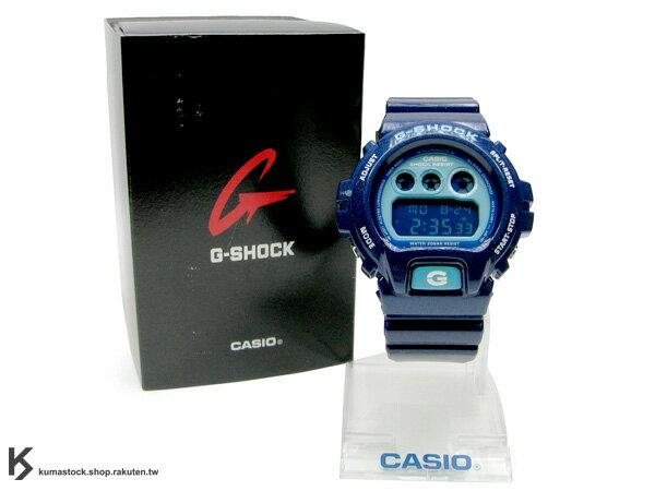 "Kumastock特別入荷 CASIO G-SHOCK "" Crazy Color系列 "" DW-6900CC-2 藍"