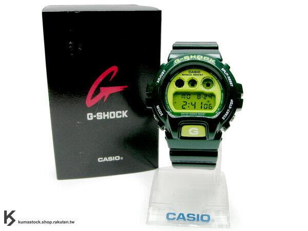 "Kumastock特別入荷 CASIO G-SHOCK "" Crazy Color系列 "" DW-6900CC-3 綠"