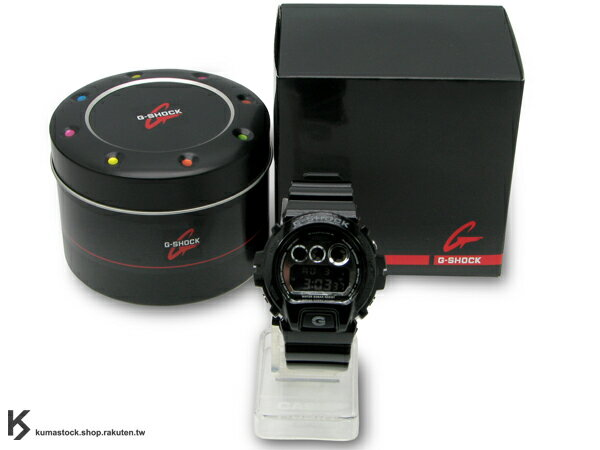 Kumastock最速入荷 2011年春夏新色 耀眼色彩宣告 CASIO G-SHOCK NEW CRAZY COLOR 系列 DW-6900NB-1DR 黑銀 金屬亮面 !