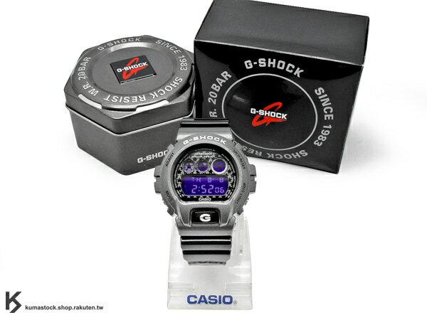 kumastock 最新入荷 2013 30 周年限定機型 CASIO G-SHOCK DW-6900SC-8DR 炫彩系列 鐵灰 黑 星星錶面 雙色 撞色 亮面錶帶 NEW CRAZY COLOR ..