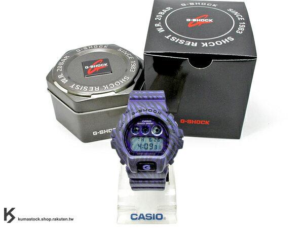 kumastock 最新入荷 2014 春夏 30 周年限定機型 CASIO G-SHOCK DW-6900ZB-2DR 斑馬迷彩 亮彩藍 斑馬紋路 霧面錶帶 ZEBRA CAMO !