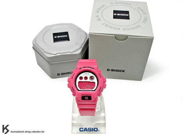 kumastock 2014 最新入荷 46mm 錶徑 貼合女性手腕曲線 CASIO G-SHOCK GMD-S6900CC-4ADR 粉紅 桃紅 CRAZY COLOR 系列 女孩專用 !