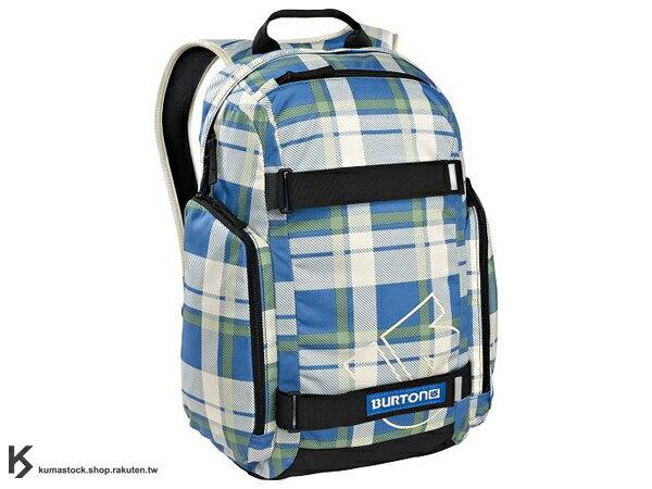 國際知名滑雪運動品牌 專業後背包 可放筆記型電腦 BURTON METALHEAD PACK BACKPACK 26L 後背包 淺藍白 格紋 藤原浩 fragment design (BRTN-267995-982NA) !