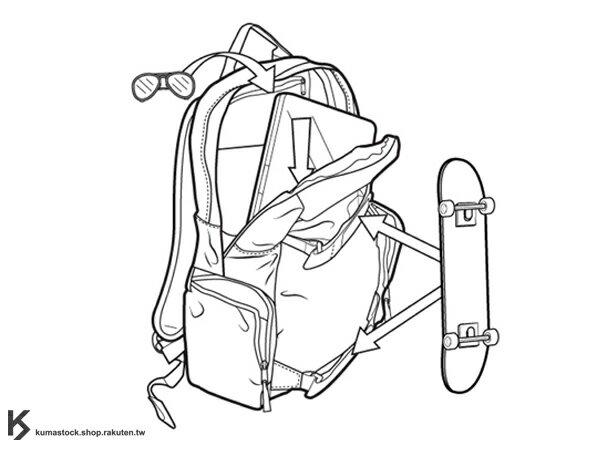 2013 國際知名滑雪運動品牌 專業後背包 可放筆記型電腦 BURTON EMPHASIS PACK BACKPACK 26L 後背包 橘黑 彩虹 格紋 藤原浩 fragment design (BRTN-288170-010NA) ! 1