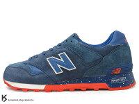 New Balance 美國慢跑鞋/跑步鞋推薦2013 美國紐約知名鞋舖 Kith NYC 聯名款 NEW BALANCE CM577KH AMERICANA 深藍紅白 線條 麂皮 燈芯絨 M577 ENCAP 避震科技 Ronnie Fieg (CM577KH) !