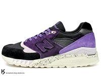 New Balance 美國慢跑鞋/跑步鞋推薦2013 限量發售 少量入荷 澳洲球鞋雜誌 SNEAKER FREAKER x NEW BALANCE CM998 SNF TASSIE DEVIL 10 周年紀念 黑紫 麂皮 慢跑鞋 袋獾 (CM998SNF) !