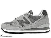 New Balance 美國慢跑鞋/跑步鞋推薦[30% OFF] 超激安價販售 海外直送入荷 1998年 頂級慢跑鞋 2012 春夏新色 NEW BALANCE M996GL 美國製 MADE IN U.S.A 灰色 淺灰 麂皮 996 (M996GL) !