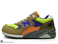 New Balance 美國慢跑鞋/跑步鞋推薦奇蹟入荷 New Balance x Mita x real mad HECTIC MT580 BLE 13代 咖啡 萊姆綠 橘色 爆裂紋 !