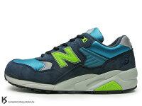 New Balance 美國慢跑鞋/跑步鞋推薦稀有在庫 New Balance x Mita x real mad HECTIC MT580 BN 8代 藍深藍 螢光綠 $5980含運