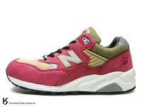 "New Balance 美國慢跑鞋/跑步鞋推薦New Balance x real mad HECTIC x Stussy "" Mad Stussy "" 二代 MT580 CR 三品牌聯名 亮紅"