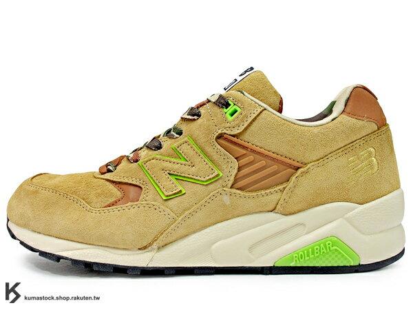 2013 聯名鞋款 香港 I.T. 集團旗下品牌 Fingercroxx x NEW BALANCE MT580 FXX 土色 卡其色 迷彩 野戰 軍事風格 麂皮 !