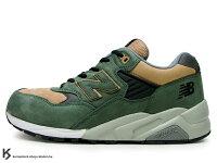 New Balance 美國慢跑鞋/跑步鞋推薦經典名作 10週念記念 2010 NEW BALANCE x MITA SNEAKERS x real mad HECTIC MT580 GBX 1ST 復刻 綠土色