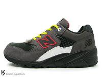 New Balance 美國慢跑鞋/跑步鞋推薦[21% OFF] 日本直送零碼出清 激安價 NEW BALANCE x MITA SNEAKERS x real mad HECTIC MT580 NIB 18代 灰黑黃 (MT580 NIB) !