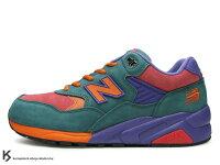 New Balance 美國慢跑鞋/跑步鞋推薦奇蹟入荷 New Balance x Mita x real mad HECTIC聯名15代 綠橘 紫紅 麂皮(MT580-PPC)!