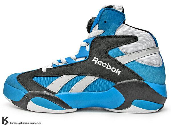 2015 20周年紀念 NBA 紐約明星賽 TOKEN 38 限量登場 紐約鞋舖 PACKER SHOES x 瑞典鞋舖 SNEAKERSNSTUFF x REEBOK SHAQ ATTAQ THE NEON 一代 藍黑 藍黑灰 PUMP 鞋舌充氣 魔術隊配色 1992 Shaquille O'Neal 簽名球鞋 STANCE 特製襪子 (V63450) !