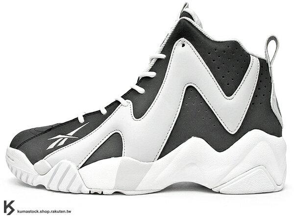 2015 20周年紀念 NBA 紐約明星賽 TOKEN 38 限量登場 紐約鞋舖 PACKER SHOES x 瑞典鞋舖 SNEAKERSNSTUFF x REEBOK KAMIKAZE II MID BROOKLYN 白灰銀 白灰黑 3M 反光 神風 ALL-STAR 野獸灌籃王 Shawn Kemp 代言 籃球鞋 STANCE 特製襪子 (V63453) !
