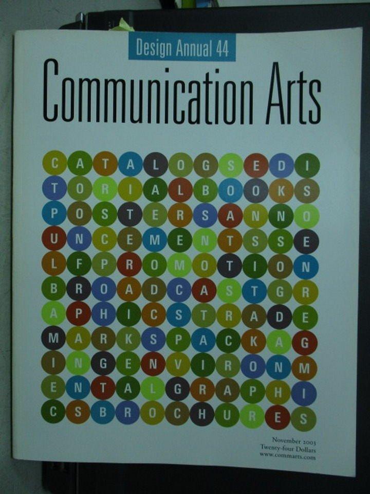 ~書寶 書T2/藝術_ZHD~Communication Arts_DESIGN ANNU