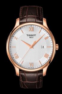TISSOT天梭表T0636103603800TRADITION簡約羅馬時尚腕錶白面42mm