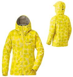 【鄉野情戶外用品店】 mont-bell |日本|  Print Rain Dancer GTX 透氣防水外套 女款/風雨衣 GORE-TEX/1128578