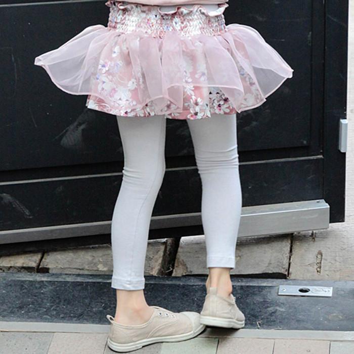 FLO*香格里拉花卉裙褲♥(5~13)