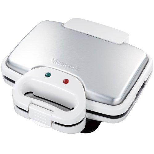 全新 VITANTONIO VWH-110W 鬆餅機 熱三明治 鯛魚燒 高溫設計 蓬鬆酥脆 內附三種烤盤(VWH-4100後繼)