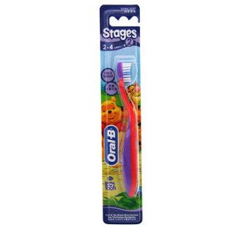 【歐樂B】迪士尼兒童牙刷2號(2-4歲適用)