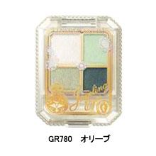 資生堂 Majolica 戀愛魔鏡 『魔幻流光眼影盒 』GR780 橄欖