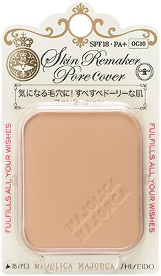 日本原裝~資生堂 Majolica 戀愛魔鏡 『 MJ 夢幻親膚粉餅芯』OC10明亮膚色