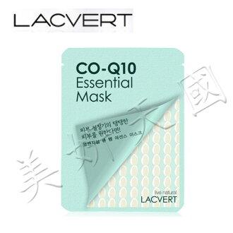 韓國原裝 ~LG化妝品 LACVERT『自然主義-CO-Q10保濕精華液面膜』