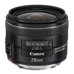 二代廣角鏡★送專業清潔組 Canon EF 28mm F2.8 IS USM ~~內置小巧光學影像穩定器 提供約4級快門防震 ~ 可刷卡